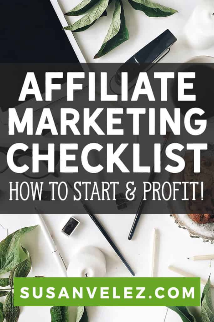 As the New Year approaches, more and more people will turn to the Internet looking for legitimate ways to make money. I know, because that's what I did years ago. That's why I wanted to create a huge affiliate marketing checklist for bloggers that are just getting started and want to make money online.
