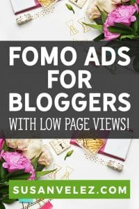 As bloggers, you know the importance of diversifying your blog income, but you can't seem to get your page views high enough to meet the Mediavine requirements. I hear you, that's why you're going to want to read this Fomo ads review, to find out how you can get started.