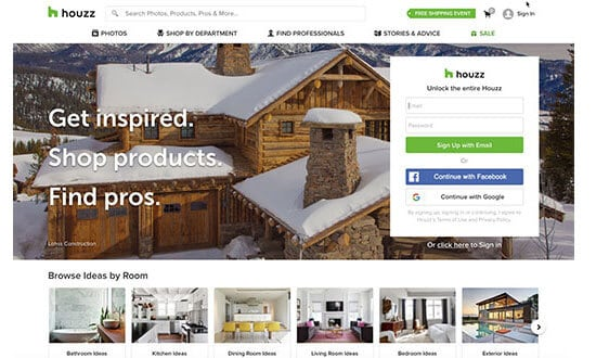 houzz affiliate program on shareasale