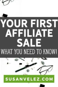 When I started this site, there were a ton of things I did wrong. Now, this doesn't mean that this site doesn't make money, in fact, I've heard a ton of things. Today, I am going to share some tips that will help you learn how to make your first affiliate sale.