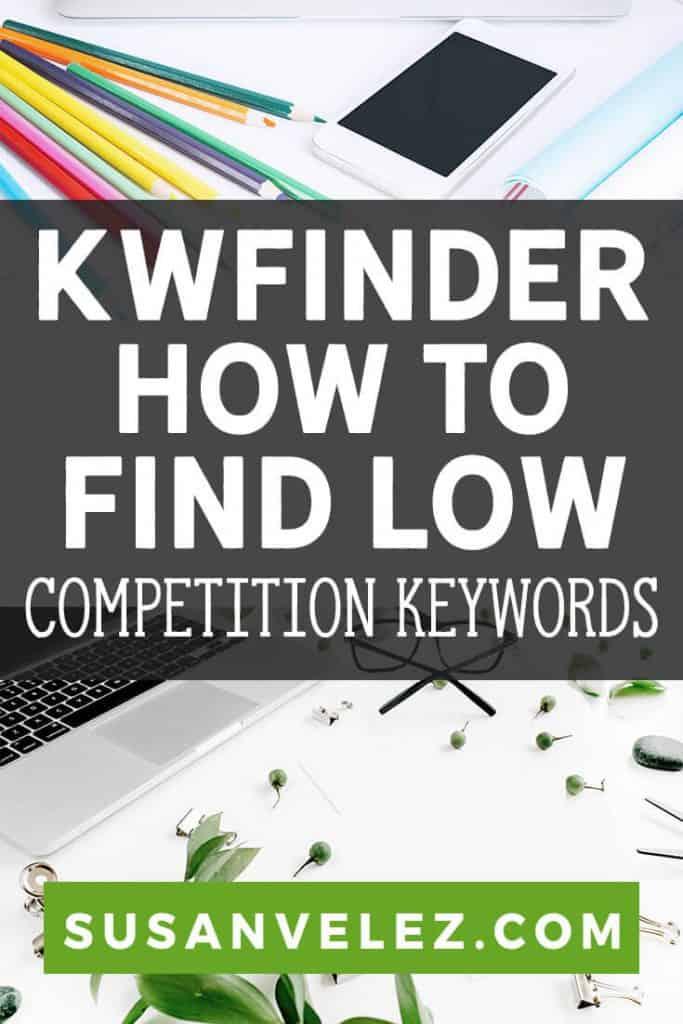 kwfinder tool pin