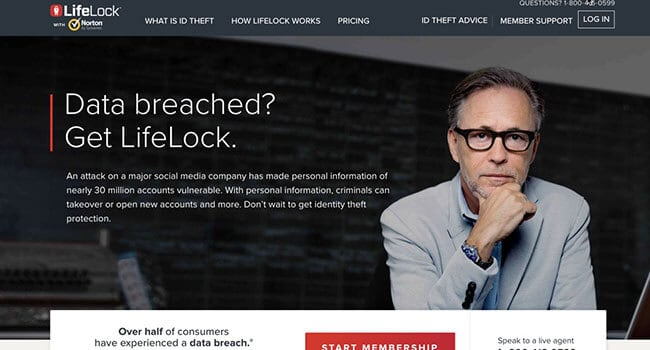 lifelock credit monitoring membership