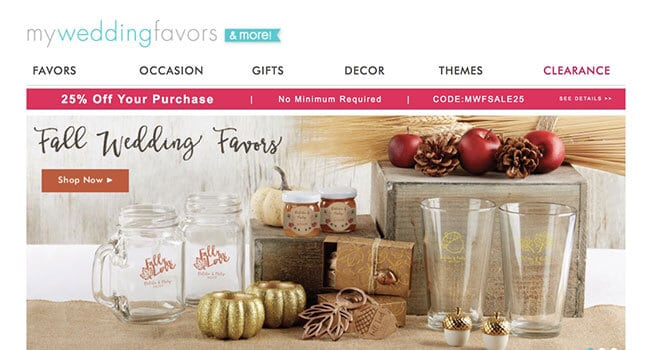 my wedding favors affiliate program