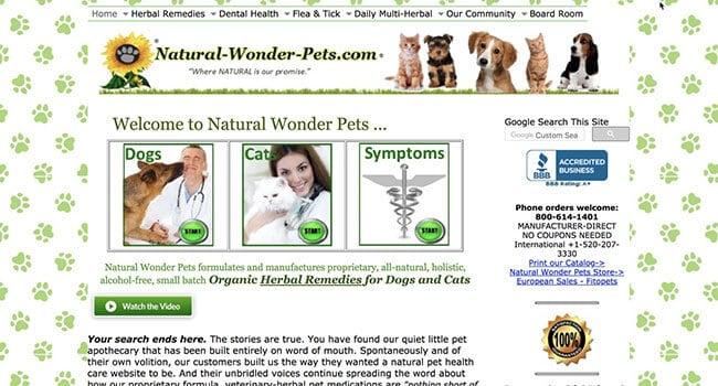 natural pet wonders pet affiliate program affiliate program