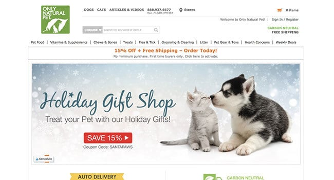 only natural pet affiliate program