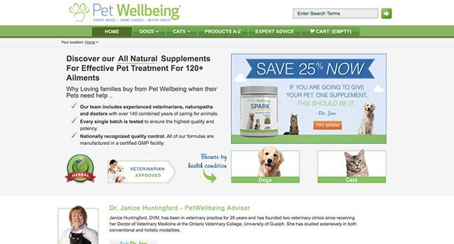 pet wellbeing affiliate program