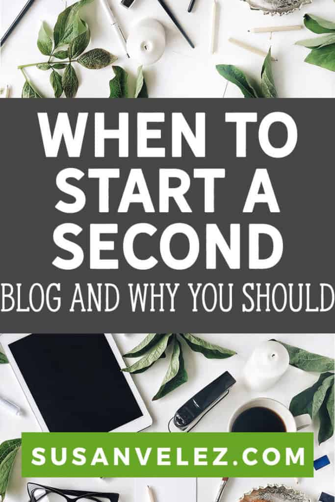 Blogging on one blog is hard enough, so when is the right time to start a second blog? Well, I'll share my experience of running multiple blogs and why I think that having more than one can be a good thing.