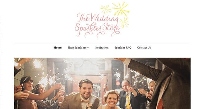 wedding sparkler store affiliate program