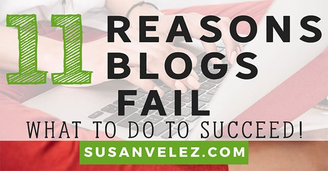 why blogs fail