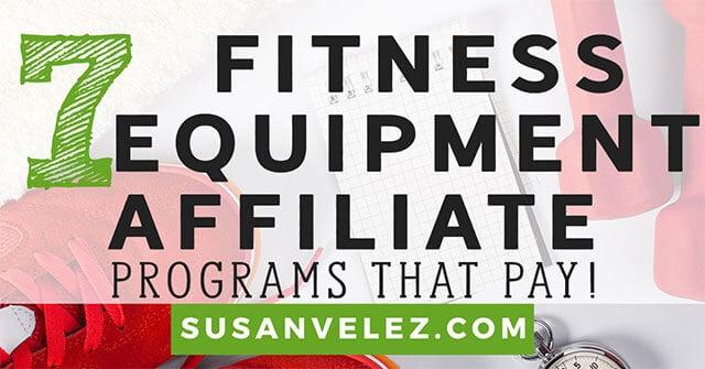fitness equipment affiliate programs