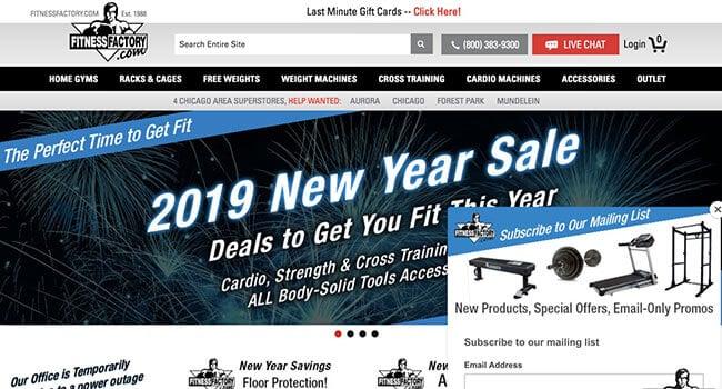 fitness factory affiliate program
