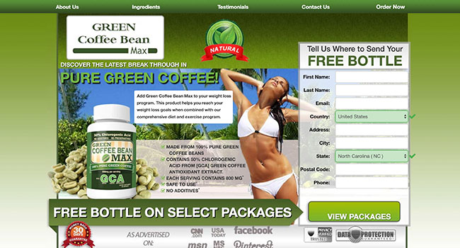 green coffee affiliate program