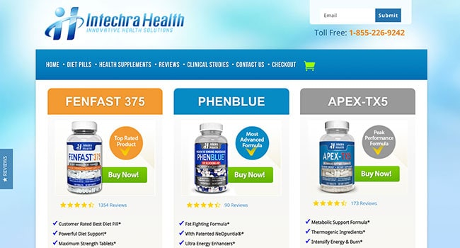 intechra health weight loss supplements affiliate program