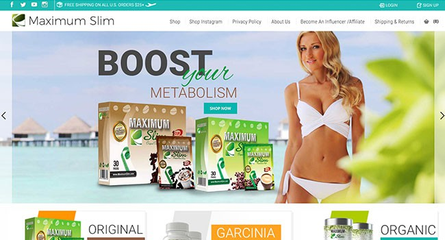 maximum slim affiliate program