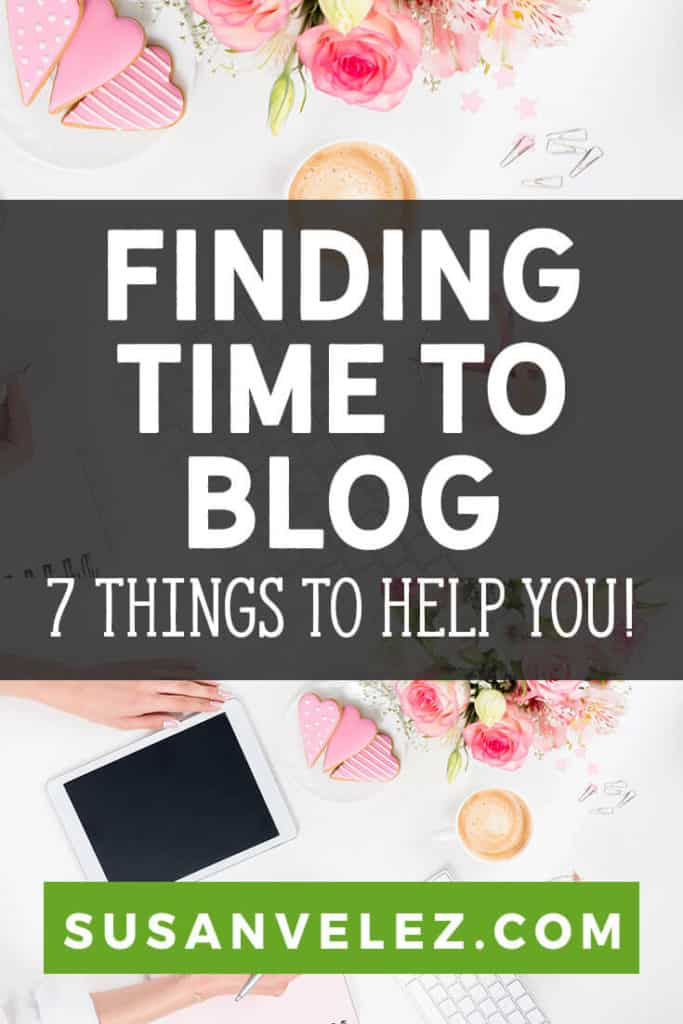 I'm not going to lie, growing a blog is hard. Most people don't want you to know how hard it is because they want you to believe they became an overnight success. Today, I am going to share some tips that will help you find the time to blog.