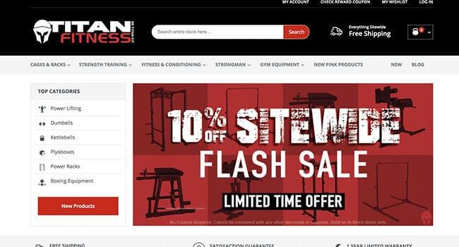 titan fitness affiliate program