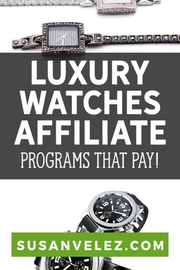I've decided to put together a list of the best luxury watches affiliate programs to help you earn money with your blog. Millennials love the look of luxury jewelry and if you can find the right products to promote, you can make a killing.