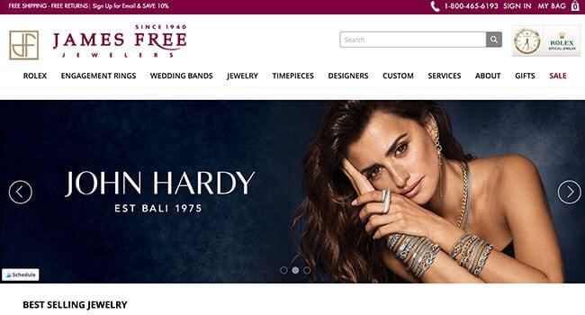 james free jewelers affiliate program