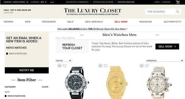 the luxury closet affiliate program
