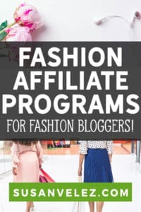 Are you a fashion blogger who is looking for different ways to monetize your blog? Well, I've decided to put together a huge list of the best affiliate programs for fashion bloggers that pay great commissions.