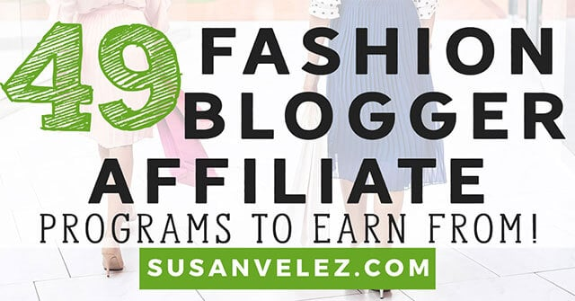 affiliate programs for fashion bloggers