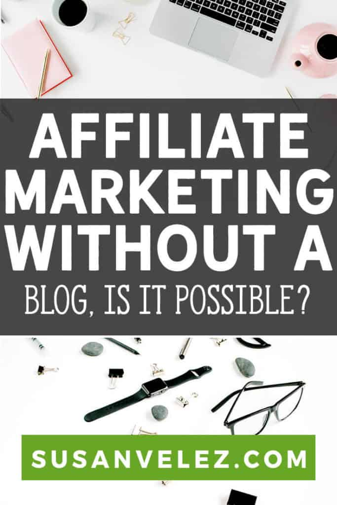 Is it really possible to start affiliate marketing without a website? The quick answer is yes, but, I don't think that's a great way to create a long-term business online. I'll share some tips that will help you start your first affiliate marketing website.