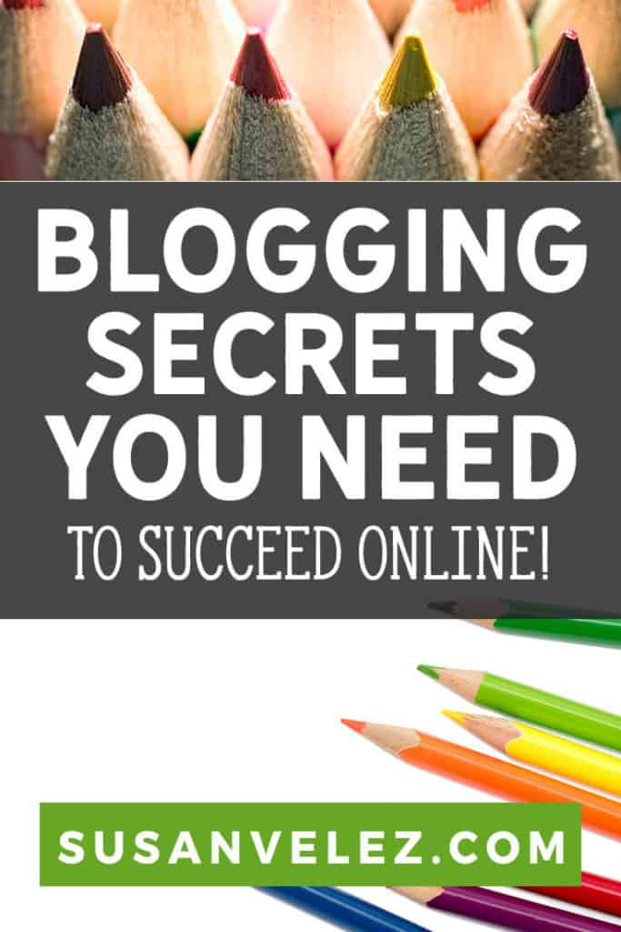 Are there really any blogging secrets that are keeping you from the success you're looking for? Well, I've been on the entrepreneurial path for way too long. The thing that I've learned is that there are no secrets, but there are certain things you need to know.