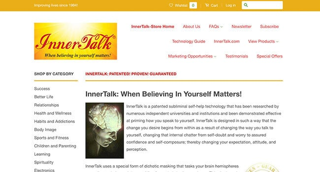 inner talk self improvement affiliate program