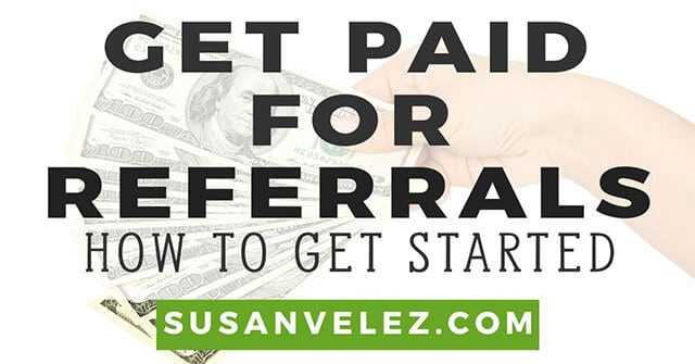 get paid for referrals