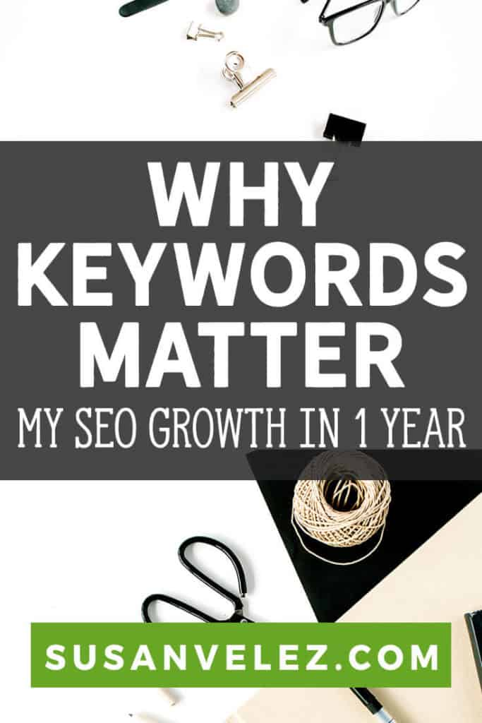 Blogging can be a profitable venture, but you need to the importance of keyword research. I wanted to share how my blog has grown in the past year since I started using KWFinder. Hopefully, this will help you why keywords are important.